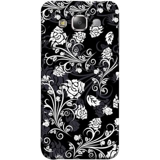 FUSON Designer Back Case Cover for Samsung Galaxy E5 (2015)  :: Samsung Galaxy E5 Duos :: Samsung Galaxy E5 E500F E500H E500Hq E500M E500F/Ds E500H/Ds E500M/Ds  (Hot Tattoo Boys Flowers Design Wallpaper Background )