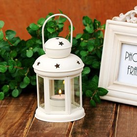 Heaven Decor Decorative Hanging Tealight Candle Holder Lantern Indoor outdoor Home Decoration for Gifts White