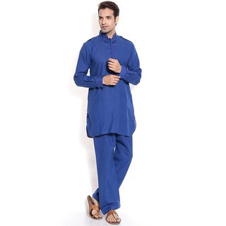 TwoPeople India Air Force Blue Pathani Suit