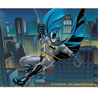 Licenses Products DC Comics Batman Swinging Sticker