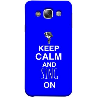 FUSON Designer Back Case Cover for Samsung Galaxy E7 (2015) :: Samsung Galaxy E7 Duos :: Samsung Galaxy E7 E7000 E7009 E700F E700F/Ds E700H E700H/Dd E700H/Ds E700M E700M/Ds  (Lovers Couples Involved Forever Party Girly Song Sing)