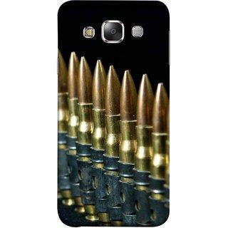 FUSON Designer Back Case Cover for Samsung Galaxy E7 (2015) :: Samsung Galaxy E7 Duos :: Samsung Galaxy E7 E7000 E7009 E700F E700F/Ds E700H E700H/Dd E700H/Ds E700M E700M/Ds  (Gun Control Aurora Rounds Ammunition Bullets Guns Ammo)