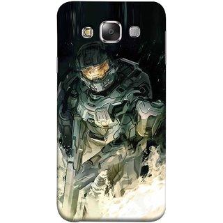 FUSON Designer Back Case Cover for Samsung Galaxy E7 (2015) :: Samsung Galaxy E7 Duos :: Samsung Galaxy E7 E7000 E7009 E700F E700F/Ds E700H E700H/Dd E700H/Ds E700M E700M/Ds  (Army War Secret Missions Country Saver Fighter)