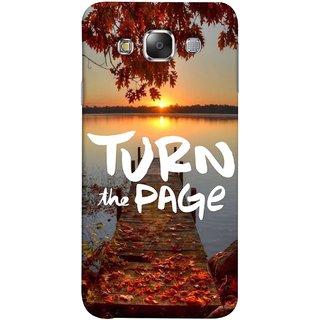 FUSON Designer Back Case Cover for Samsung Galaxy E7 (2015) :: Samsung Galaxy E7 Duos :: Samsung Galaxy E7 E7000 E7009 E700F E700F/Ds E700H E700H/Dd E700H/Ds E700M E700M/Ds  (Nice Good Morning Sunshine Rise Lake Shore )