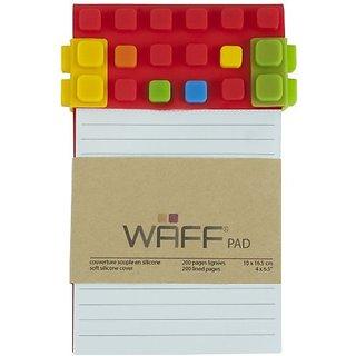 Waff Pad, Medium, Red