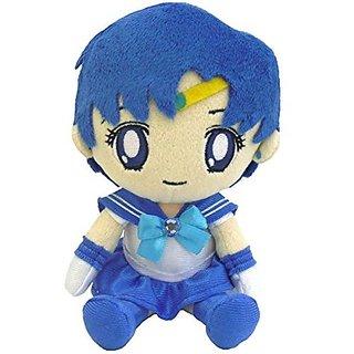 "BanDai Sailor Moon Series 2 Mercury Plush Doll, 7"""