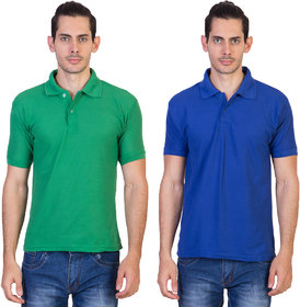 kaizen pack of 2 polo neck t-shirts