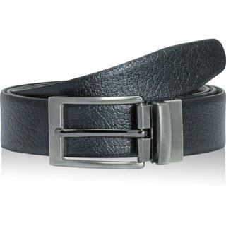 POLLSTAR Casual  Formal Feather Edge Reversible Black  Brown Men's Belt (BT101)