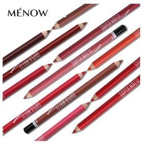 menow super matte lip liner pencil(Set of-12)