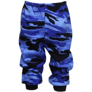 Tumble Blue Camouage Baby Track Pant (12-18 Months)