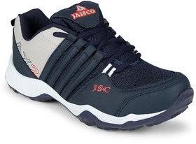 Jaisco Men's Navy Lace-up Running Shoes
