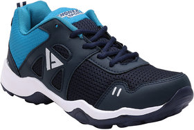 Fhonex Men's Navy Lace-up Training Shoes