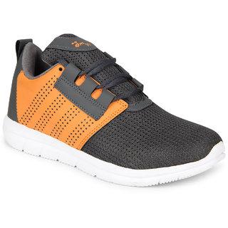 SMARTWOOD Men's Grey Lace-up Training Shoes