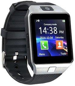 Unboxed Smart Watch DZ09 Silver 3 Months Seller Warranty