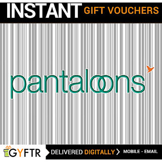 Pantaloons GyFTR Insta Gift Voucher INR 2000 (Payable Only Via Jio Wallet)
