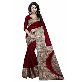 2bc7385cf Madonna Designer Designed Fish Art Border Design Wedding Pure Cotton Silk  Party Saree
