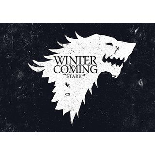 94a239a4a1 Buy Posterskart Game Of Thrones  Winter Is Coming  Poster (12 x 18 inch)  Online - Get 33% Off