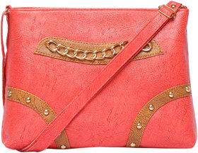 Pink Color Fashionable Sling Shoulder Bag Cross Body Bag