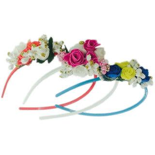 Loops N Knots Set Of 3 Assorted Tiara / Crown Hairband