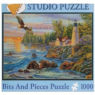 Bits & Pieces 1000 Pc Puzzle - Cory Carlson: Peaceful Waters
