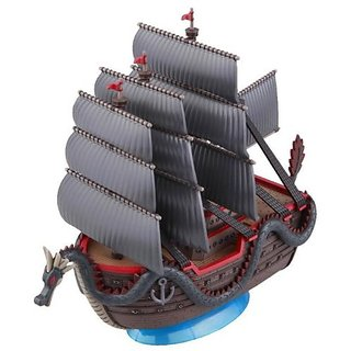 "Bandai Hobby Grand Ship Collection Dragons Ship ""One Piece"" Model Kit"