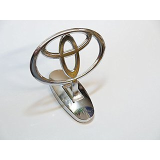 Car Auto Hood Bonnet Ornament Chrome Emblem for Toyota