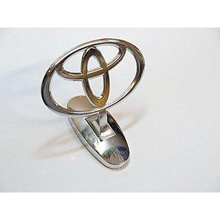 Car Auto Hood Bonnet Ornament Chrome Emblem for Toyota