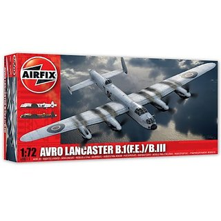 Airfix Avro Lancaster B.I (F.E.)/B.III Model Kit (1:72 Scale)