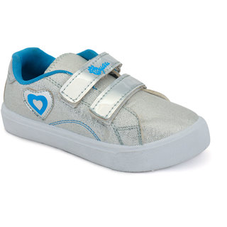 MYAU Boys Girls Velcro Closure Casual Sneakers