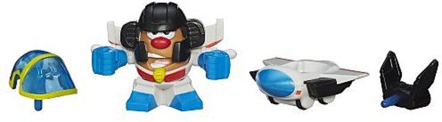 Potato Head Transformers Mixable Mashable Heroes as Starscream Robot 2-Inch Playskool Mr