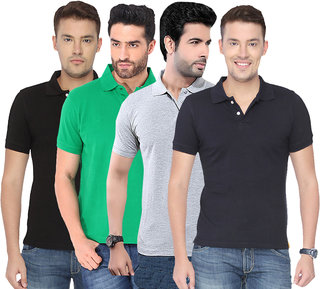 Concepts Multicolor Pack of 4 Polo Tshirts