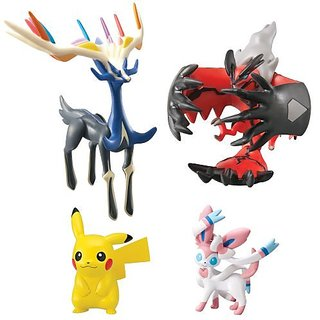 TOMY Pokemon Super Action Figure (4-Pack)