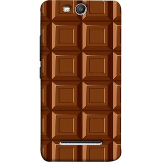 FUSON Designer Back Case Cover for Micromax Canvas Juice 3 Q392 (Candies Candy Chocolate Marshmallo Colourful Child)