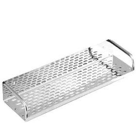 Kurvz Kitchen and Bathroom Stainless Steel Shelf 16inch