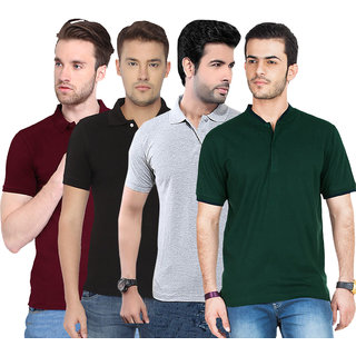 Concepts Multicolor Polo T-shirt Pack of 4