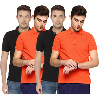 Concepts Multi-Color Pack of 4 Polo Tshirts