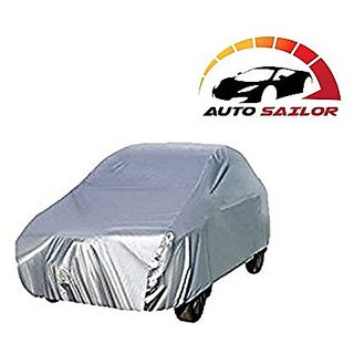 Autosailor Black Check car body cover for Hyundai Verna (Black Check) With free Branded KeyChain