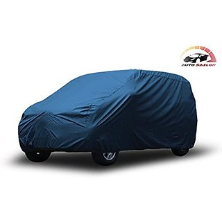 Autosailor Premium Blue car body cover for Nissan Micra Active (Premium Blue) With free Branded KeyChain