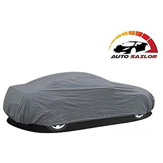 Autosailor New Premium Grey car body cover for Mahindra KUV100 (New Premium Grey) With free Branded KeyChain