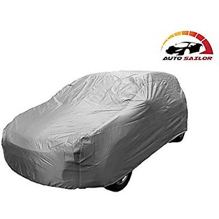Autosailor Silver car body cover for Maruti S-Cross (Silver) With free Branded KeyChain