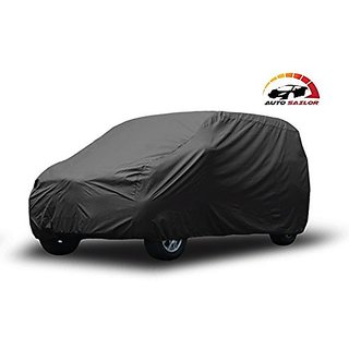 Autosailor Matty Grey car body cover for Mahindra e2o (Matty Grey) With free Branded KeyChain