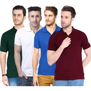 Concepts Pack of 4 Polo Tee