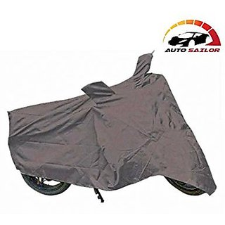 Autosailor Premium Grey Bike Body Cover For Bajaj Pulsar 200 with free Branded keychain