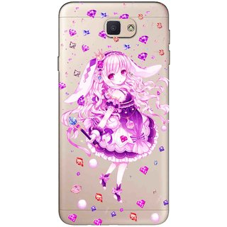 new styles 3ed23 99bbf Snooky Printed Diamond Girl Mobile Back Cover of Samsung Galaxy J7 Prime -  Multicolour