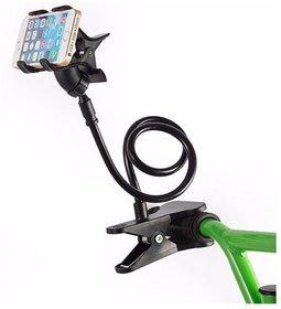 Battlestar Black Long Lazy Bed Desktop Car Stand Mount Holder for Cell Phone Car Mobile Holder MULTICOLOR CODE-H1008