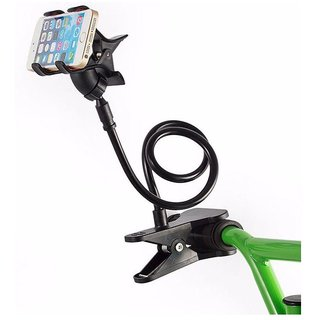 Battlestar Black Long Lazy Bed Desktop Car Stand Mount Holder for Cell Phone Car Mobile Holder MULTICOLOR CODE-H0985