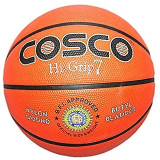 Cosco Hi Grip Orange Basketball