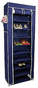 Orril 9 Layer Portable Multi Utility Shoe Rack Organizer (Random colors)
