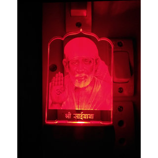 Saibaba colour changing LED lamp