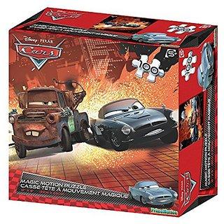 Cars 2 Lenticular Puzzle (100-Piece)